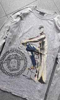 Versace Vtg Jeans Couture Long Sleeve Tee