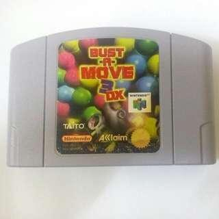 Bust A Move 3 DX Nintendo64 N64