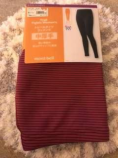 Montbell Thicker Legging 中厚手 - women size S