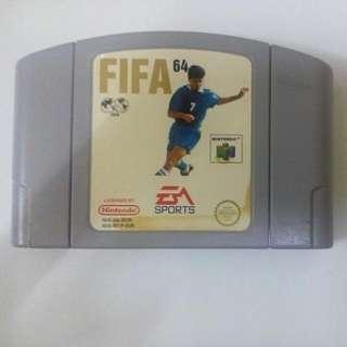 Fifa 64 Nintendo64 N64 With Manual