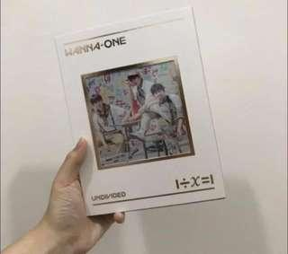 [WTS] WANNA ONE UNDIVIDED TRIPLE POSITION
