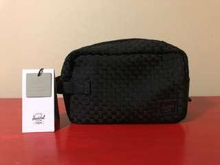 Herschel Supply Woven Travel Kit Brand New With Tags