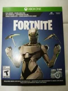 Fortnite bundle xbox card