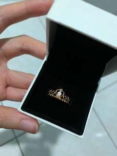 Pandora Tiara Ring - Rose Gold