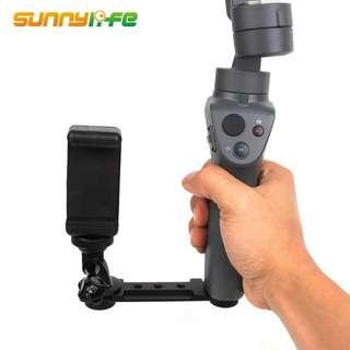 🚚 SUNNYLIFE GoPro Phone Holder Extension Bracket Mount Support for DJI OSMO MOBILE 2 / ZHIYUN SMOOTH 4 / FEIYU