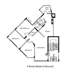 For Ground Floor Lovers - Blk 542 Jurong West