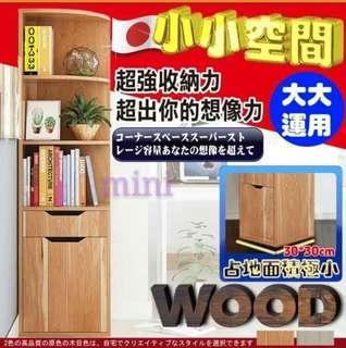 日本流行轉角多功能收納櫃(2色) 年終換新價$1188元免運