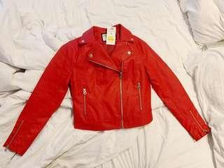 Terranova Leather-like Jacket