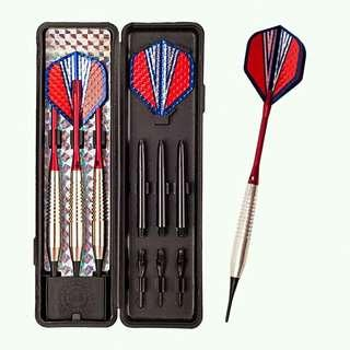 18g Electronic Red/Silver Transformer Soft Tip Darts (3pcs / set)