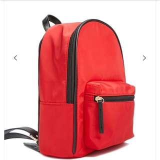 Forever 21 red mini backpack