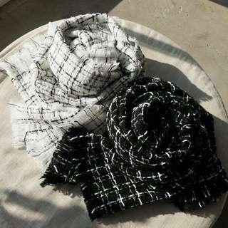經典軟呢圍巾