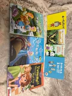 Frozen and Sophia story books $60 for all