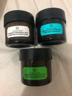 The Body Shop masks bundle