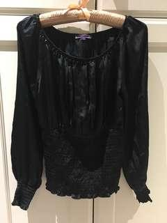 Brand New Silk-like Blouse Size S