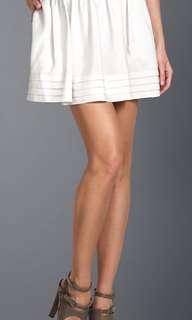 BCBG Silk skirt in grey size XS