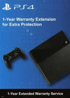 Play Station 4 extended warranty