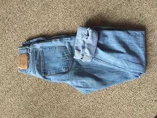 Eddie Bower Size 6 Mom Jeans