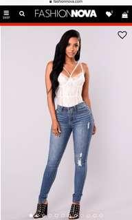 Fashion Nova jeans- Go girl skinny jeans
