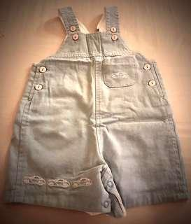 Light Blue Overalls for Boys
