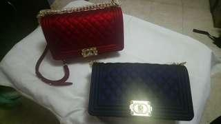 Chanel Le Boy inspired Jelly Bag 25cm