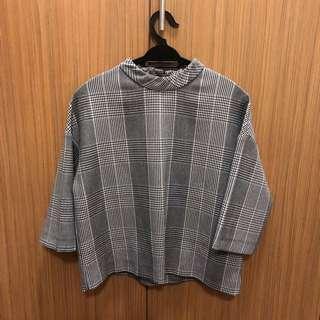 Zara Checkered Top