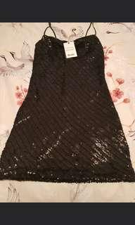 Bardot sequin dress