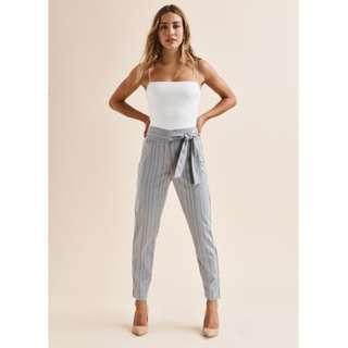 NEW Dynamtie Belted Dress Pants