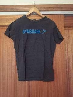 Gym shark gym tee