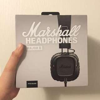 🎧MARSHALL MAJOR II Headphones With Microphone⚡️