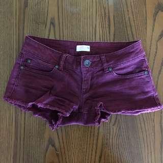 Maroon shorts 00