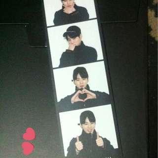Wanna One Photobook essay Photo strip (Ha Sungwoon)