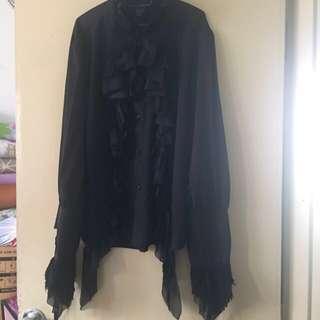 #DEC50 Goth blouse