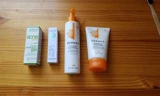 Cruelty Free Vegan Beauty acne skin care products