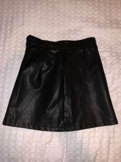 AVA Leather Skirt NEW W/ TAGS