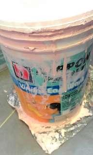 5L Nippon paint left 20%