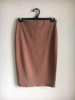 Midi Bodycon Skirt