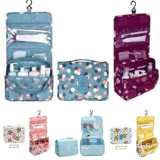 🚚 ✨現貨✨韓版 多功能收納包  防水洗漱包  旅行收納包    化妝包