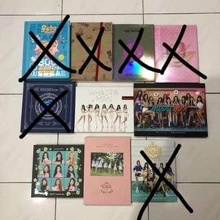 [12.12 SALES] KPOP GIRLS GROUP ALBUM