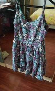 Other Sparrows cute floral dress sz 8 XS