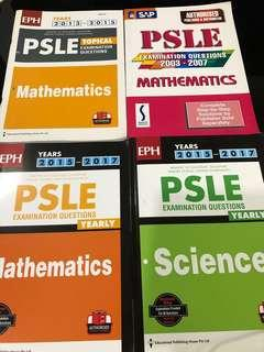 2003/2004/2005/2006/2007 Past years PSLE booklets
