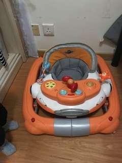 2in1 car race baby walker 搖籃學行車二合一