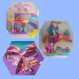 3 sets of My Little Pony