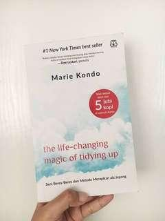 Ebook : the life changing magic of tidying up by Marie Kondo