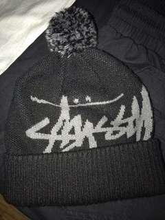 🚚 Stussy 毛帽 二手 8.5成新