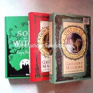 The Wicked Years series set (#2, #3 & #4) by Gregory Maguire