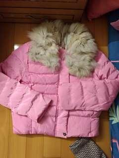 🚚 粉紅鋪棉外套