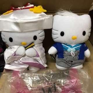 HelloKitty & Daniel Japanese Wedding 公仔 結婚 花車