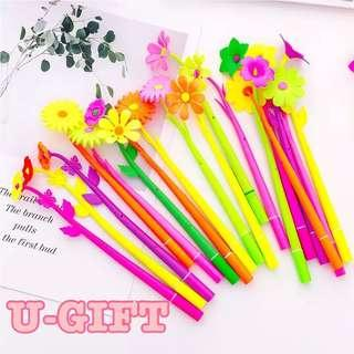 [STA]Flower Gel Pen/Goodie bag/Gift/Teacher's Day/Children's day