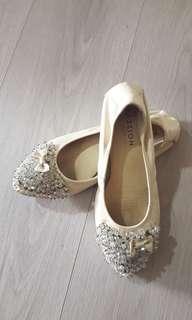 Pazzion Glittery Flats Size 37