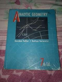 Analytic Geometry by Gordon Fuller and Dalton Tarwater